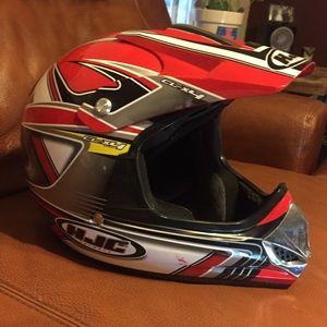 Like New! HJC CL Motorcross Helmet